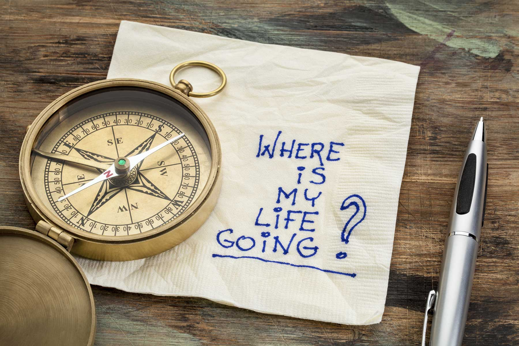 Compass and life direction